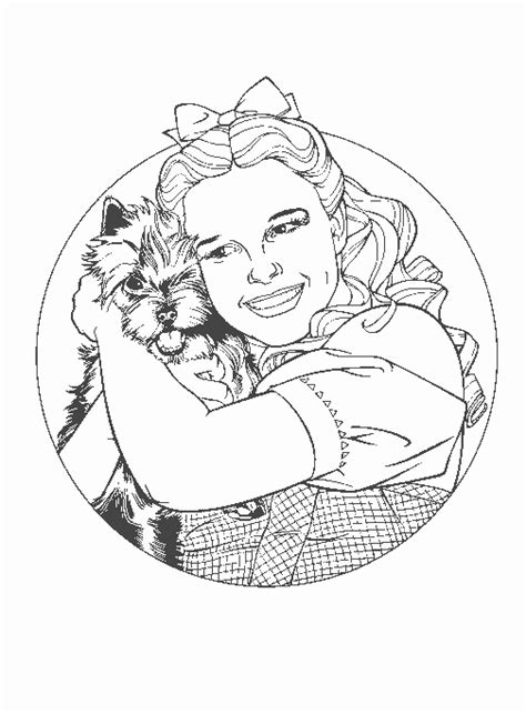 coloring book pages wizard of oz crafting with the wizard of oz free printables