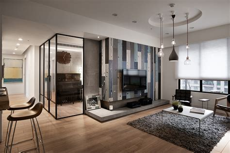 Modern Apartment Decor Modern Apartment In European Style In Taiwan From