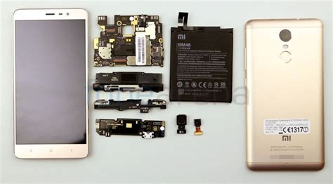 Vivo 5x Pro xiaomi redmi note 3 teardown qualcomm snapdragon 650
