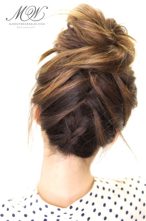 the knot so braided bun top 10 best braids tutorials to try this summer braid