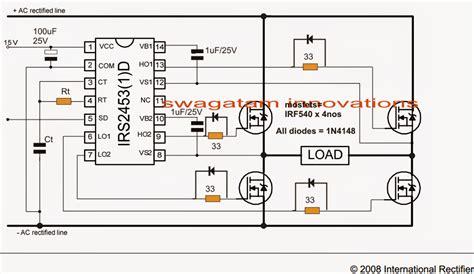 Pcb Inventer Travo Ferit how to make a 2kva ferrite inverter circuit