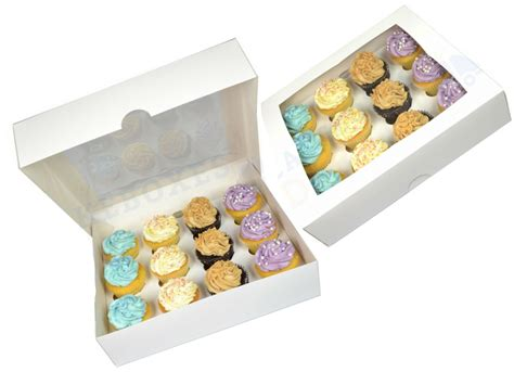 Box Cupcakes premium cupcake box for 12 cupcakes with window and divider 5