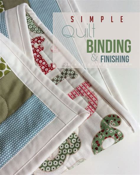 Quilt Binding Corners Tutorial by Simple Quilt Binding Finishing Tutorial Quilt Binding