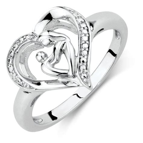 child ring in sterling silver