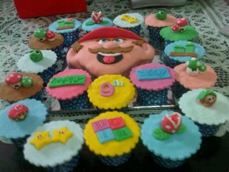 Mario Bros Hiasan Kue carving cake mario bros and cupcakes mily cakes and cookies