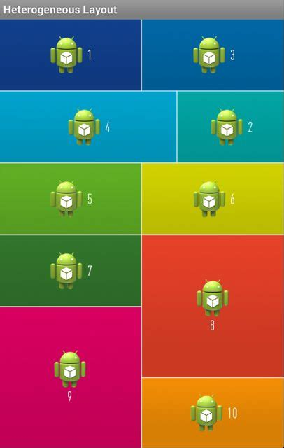grid layout android java java grid layout on android stack overflow