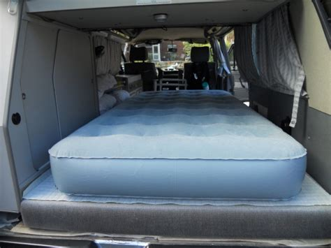 futon in van thesamba com view topic inflatable bed for van or tent