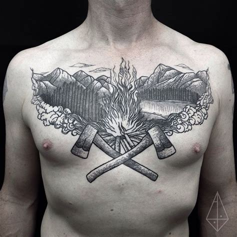 axe tattoo abby drielsma let 237 cia ink tatting