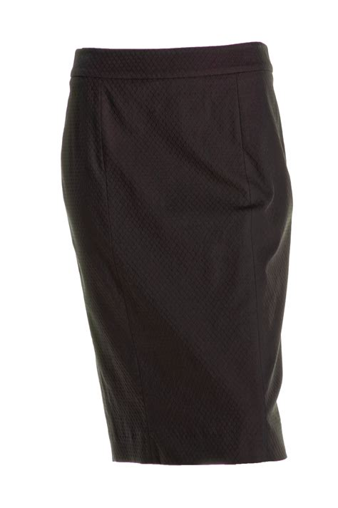 Cotton Pencil Skirt cotton skirts dressed up