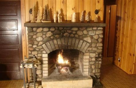 cabin with fireplace and our original vrbo