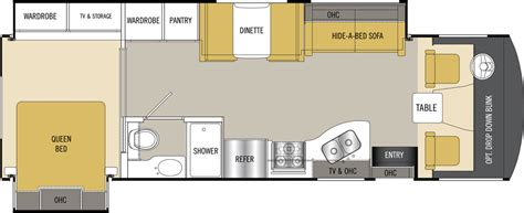coachmen rv floor plans coachmen mirada rv floor plans coachmen mirada motorhomes