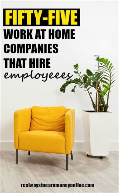 55 companies work at home companies that hire you as an