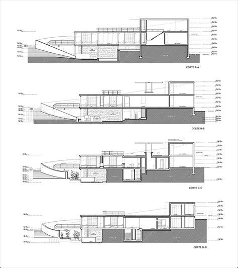 Plans For House galeria de resid 234 ncia mirante 2 8x arquitectos 15