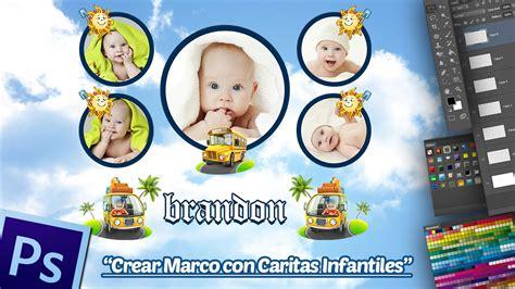 fondo para beb 233 en photoshop youtube descargas gratis de caritas crear marco con caritas