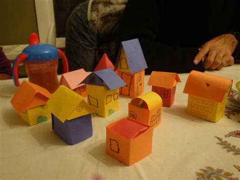 How To Make A Small Paper House - 36 best images about school on cardboard