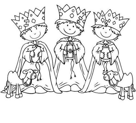 nativity coloring pages in spanish coloring three kings children in spanish i think it s a