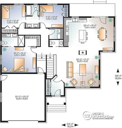 Maison D Architecte En Bois 2433 by Les 25 Meilleures Id 233 Es Concernant Plan De Maison Ouvert