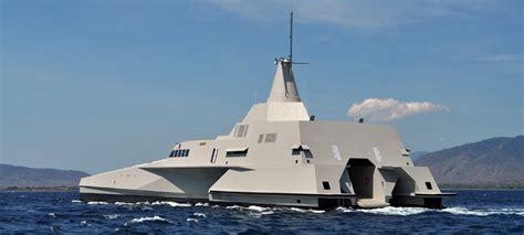 trimaran warship lomocean design naval architecture and yacht design