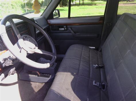 Jeep Xj Seats Driver S Seat What S A Aftermarket Upgrade