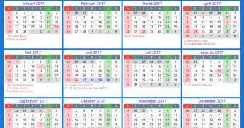 Kalender 2018 Norge Kalender 2017 Norge