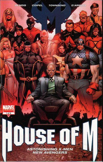 house of m 2005 1 variant comics marvel com house of m 1 b aug 2005 comic book by marvel