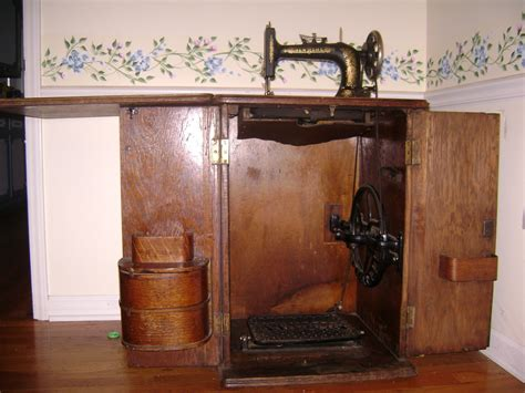 sewing machine cabinet singer value of antique singer sewing machine in cabinet