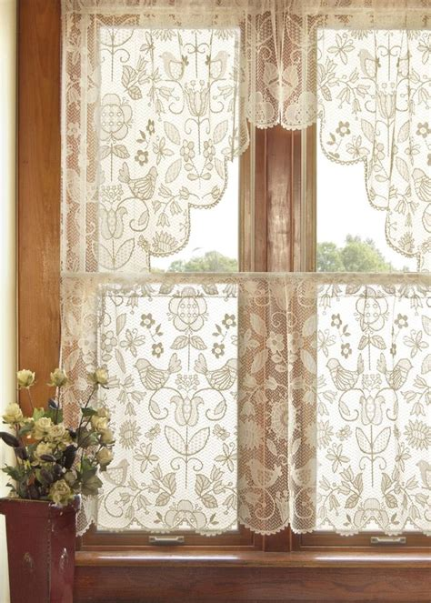 folk art curtains best 25 lace curtains ideas on pinterest