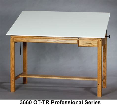 drafting table wood smi professional series drafting table wood four post table