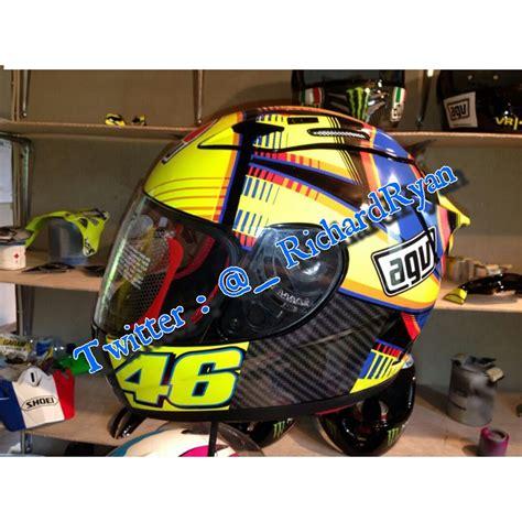 Helm Kyt Rc7 baru jual helm kyt rc7 custom motif corsa soleluna