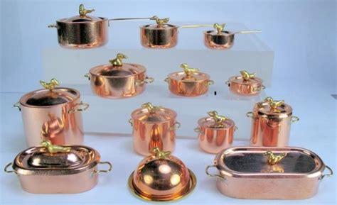 j and j dollhouse miniatures j getzan dollhouse miniature copperware miniature copper