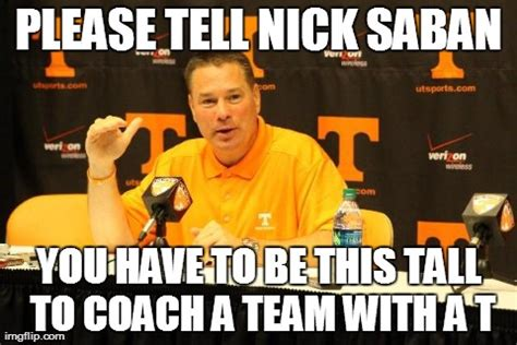 Lane Kiffin Meme - laugh at tennessee and tennessee posters itt page 4