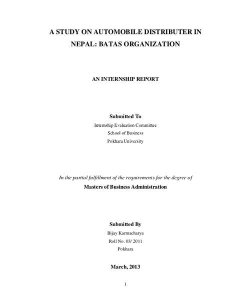 batas internship report