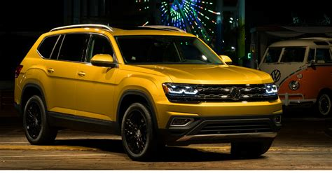 volkswagen introduces new american 7 passenger suv this
