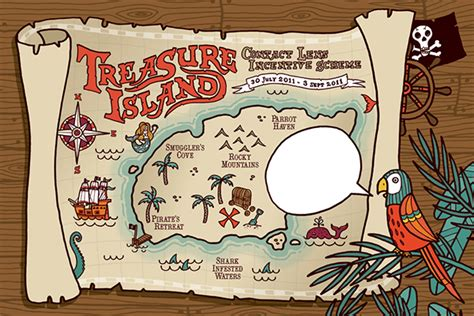 treasure island book report project treasure island on behance