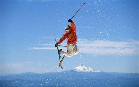 types of skiing skiing and snowboarding