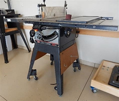 craftsman table saw model 113 craftsman 10 inch table saw model 113 298031