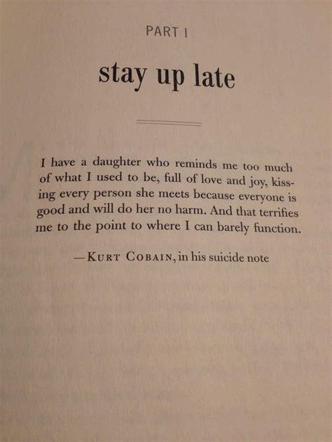 beautiful quotes from kurt cobain quotesgram