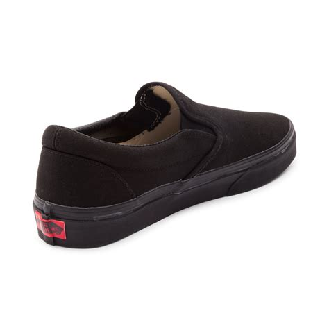 Vans Slop For vans slip on skate shoe black 499279