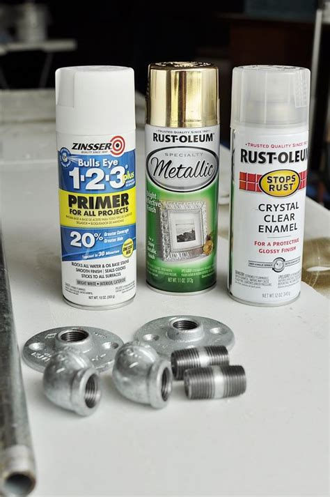 home depot paint supplies diy curtain rods from galvanized pipe the home depot