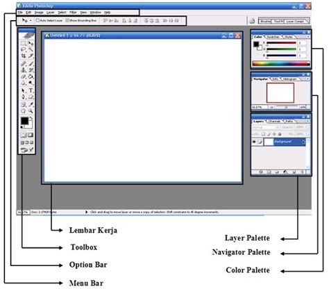 tutorial photoshop cs3 untuk photografer pengenalan komponen pada adobe photoshop cara membuka