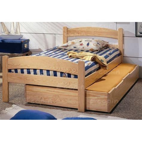pied de lit haut lit en pin quot timoe quot pied haut ou bas ecopin meubles en pin