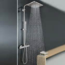 grohe dusche grohe rainshower f series wall mounted shower system