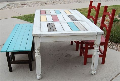 Upcycled Dining Room Table Upcycled Dining Table And Chairs Apartment Ideas Money Stains And Southern Porches