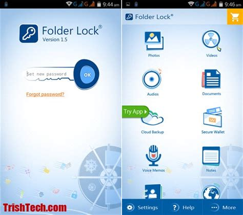 file locker for android folder lock for android shields files inside a vault