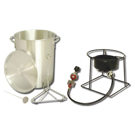 backyard pro turkey fryer king kooker 38 000 btu propane gas outdoor turkey fryer