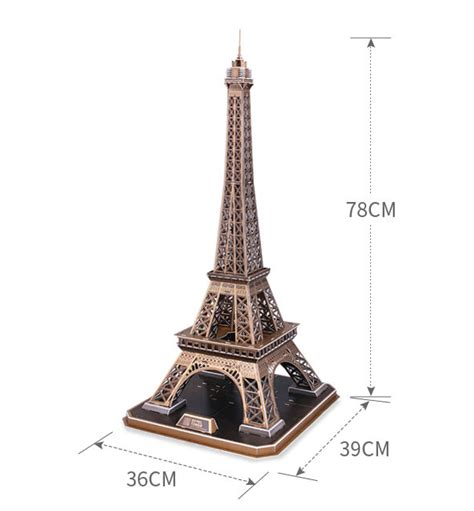 Puzzle Eiffel Tower eiffel tower 3d puzzle giftcartoon