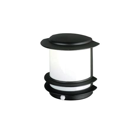 Outdoor Lighting With Pir Elstead Lighting Azure Low Energy 10 Black Outdoor Wall Light Pir