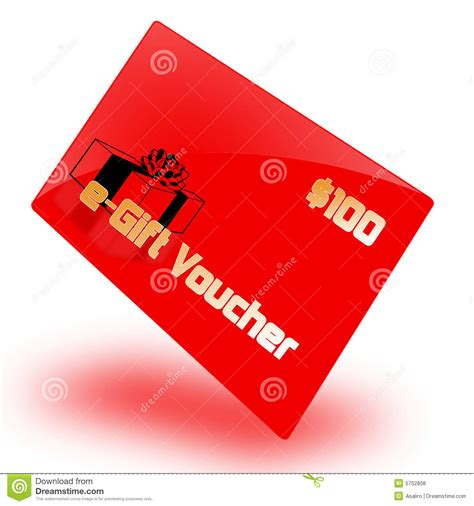 e gifts e gift voucher stock illustration image of credits email