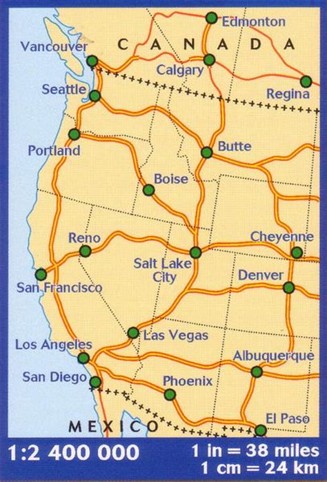 map of western canada and us western usa western canada michelin buy map of western