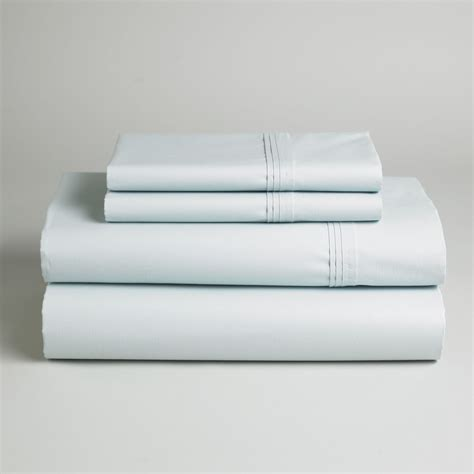 400 thread count sheets country living 400 thread count pima cotton sheet set